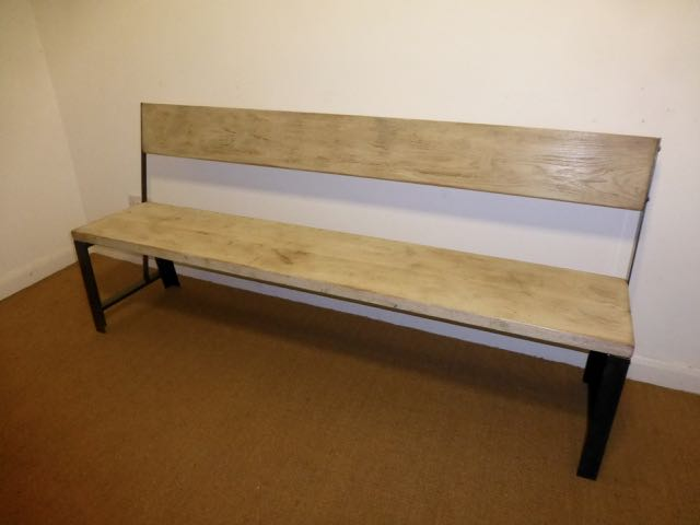 Picture of Oak bench