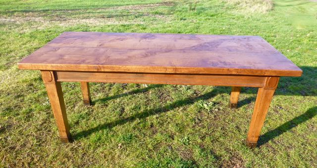 Picture of Art deco oak table