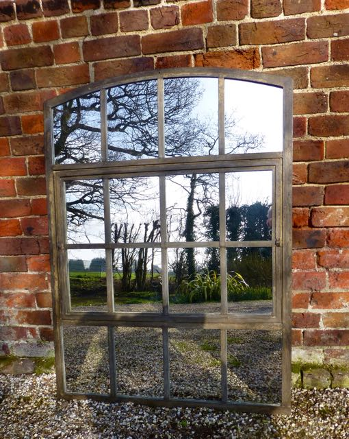 Picture of Slow arch window mirror