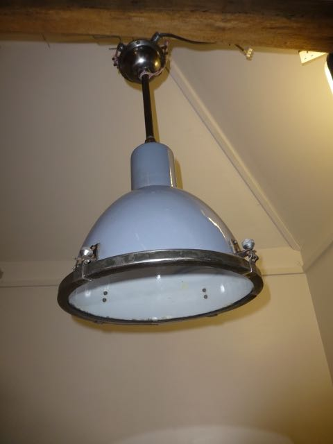 Picture of Gray industrial light