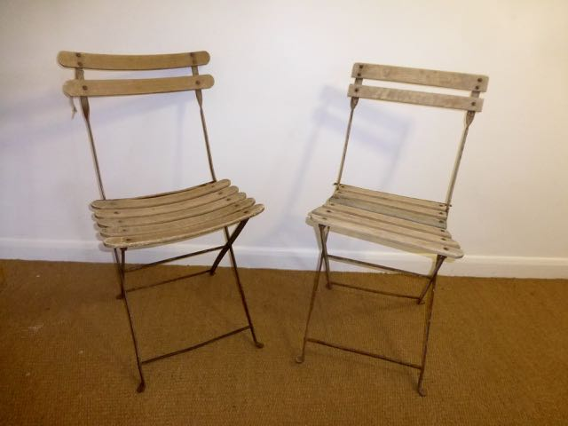 Picture of Pair of French Band stand chairs