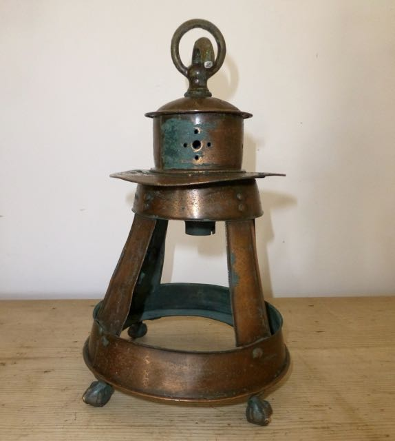 Picture of Ships copper light