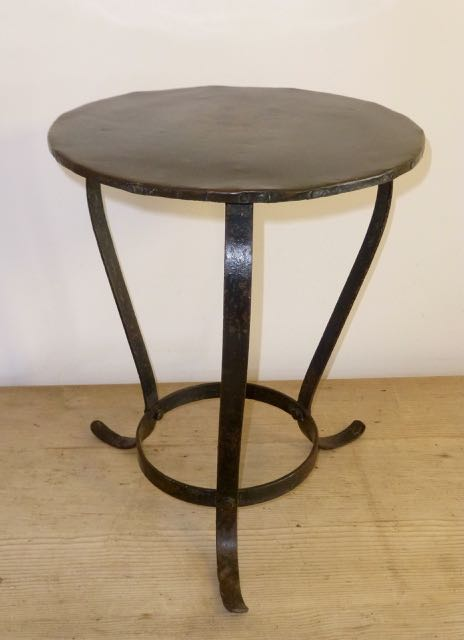 Picture of Small French metal table