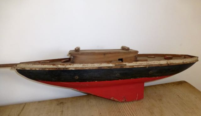 Picture of old boat model