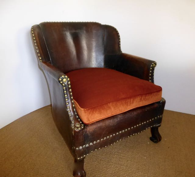 Picture of Scottish leather chair