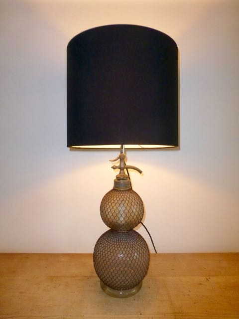 Picture of Twin French soda lamp.