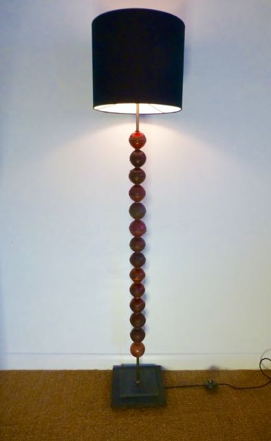 Picture of 14 Cricket ball standard lamp