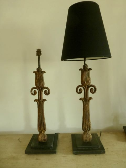 Picture of Blustrade thistle lamp