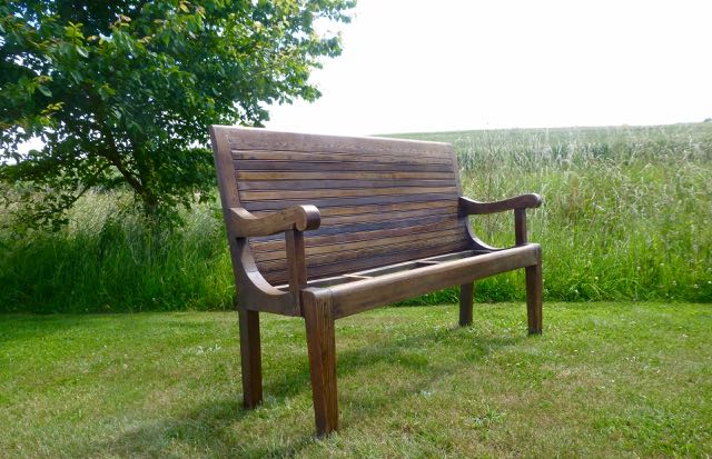Picture of Oak bench seat