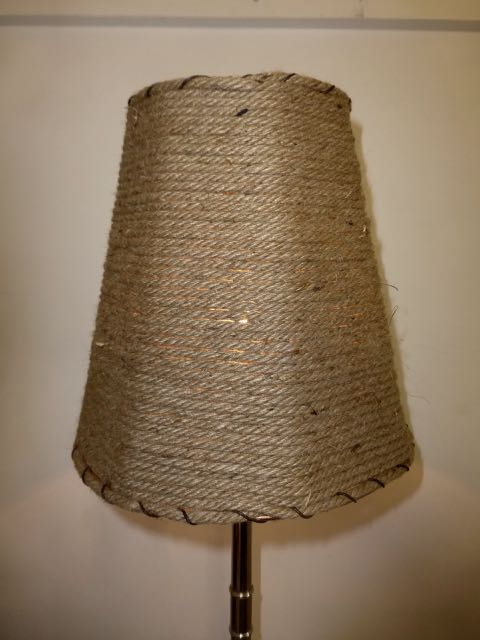 Rope hemp shade