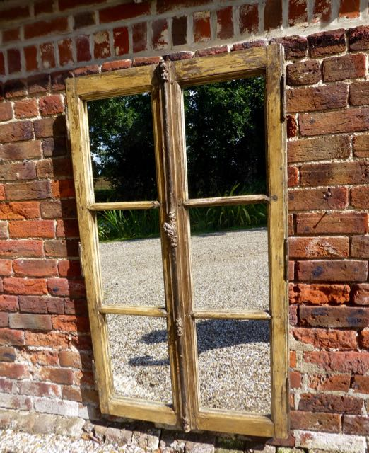 Picture of French window mirrror