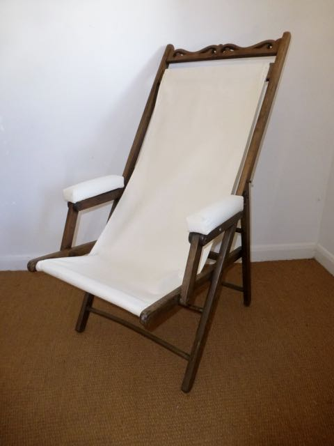 Picture of Edwardian deck chair