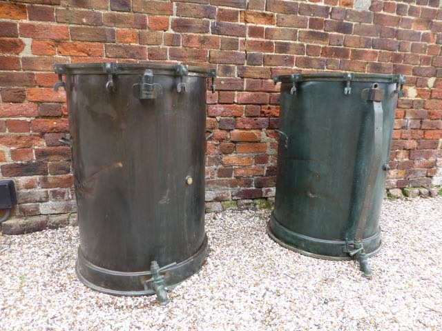 Picture of For Sale. Pair of Whisky vats. Call for price.