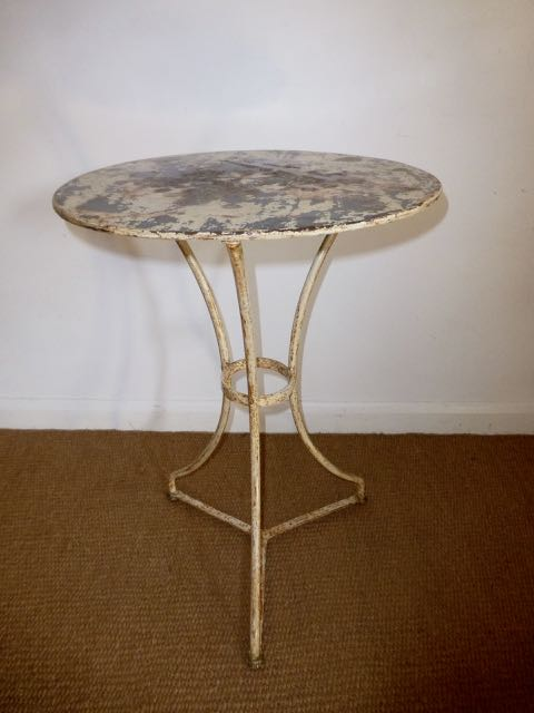 Picture of French metal table