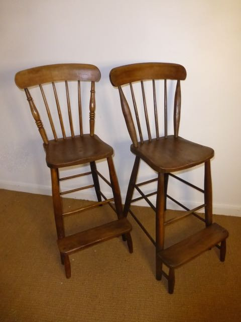 Picture of Pair of High chairs