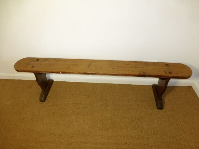 Picture of French pine bench