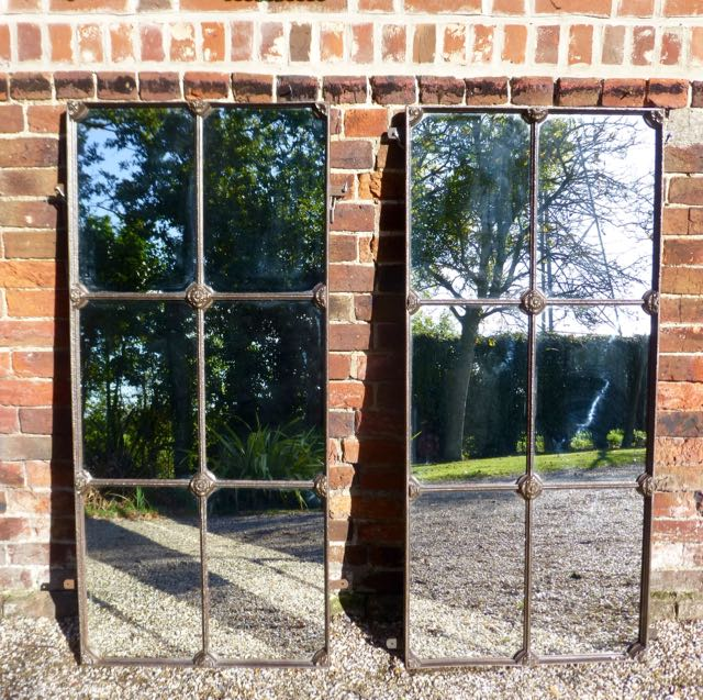 Picture of Pair of Victorian window mirrors