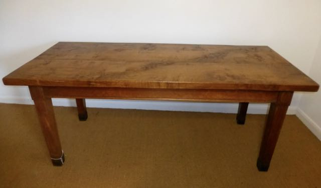 Picture of Solid oak table
