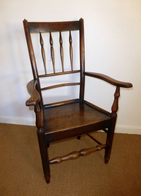 Picture of Late Georgian clissett arm chair