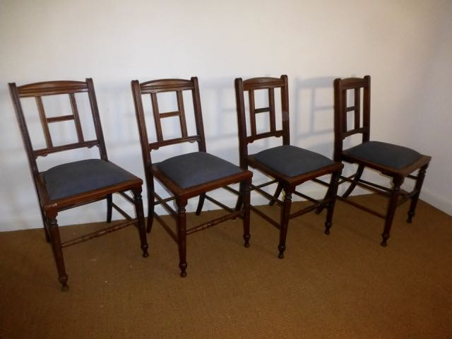 Picture of Set of 4 Edwardian H chairs