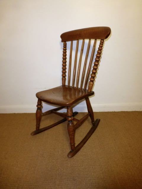Picture of Elm rocking chair