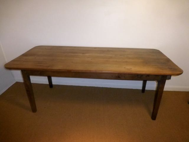 Picture of French cherry farm house table