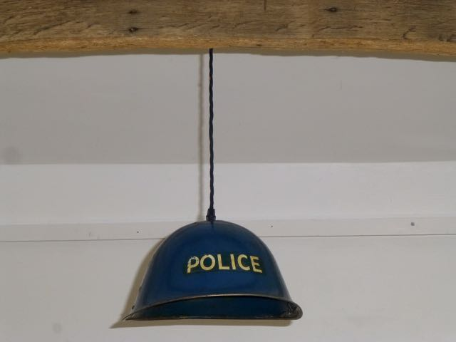Picture of Police wartime helmet