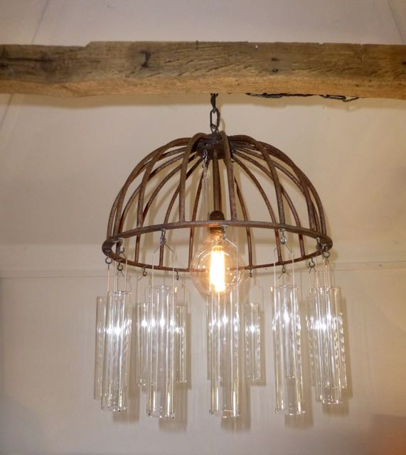 Picture of Flower basket chandelier