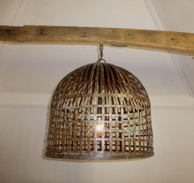Chicken coop pendant.