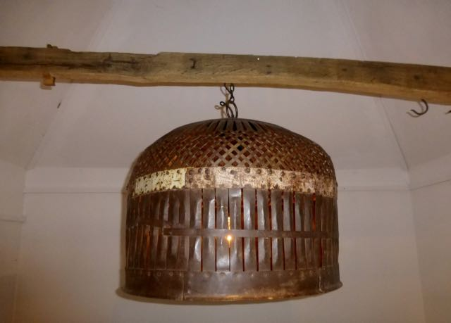 Picture of Large chicken coop pendant light