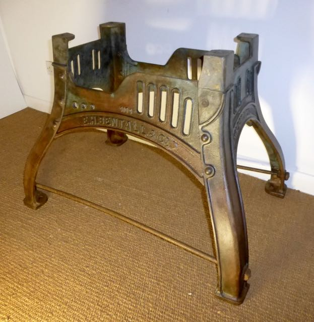 Picture of Bamford's Milling base table