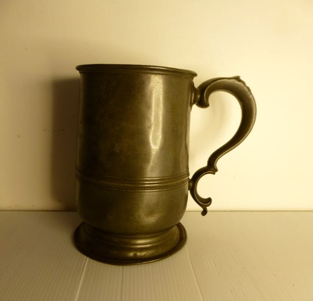 Picture of Pewter Quart tankard