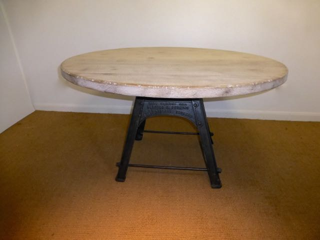 Picture of Round oak top on Bamford's