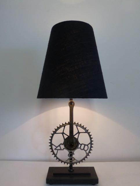 BSA bicycle chain ring table lamp