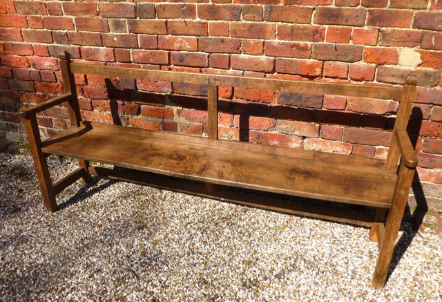 Picture of English elm Bench