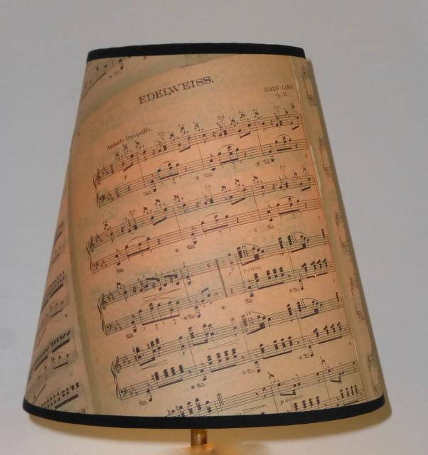 Music sheet shades