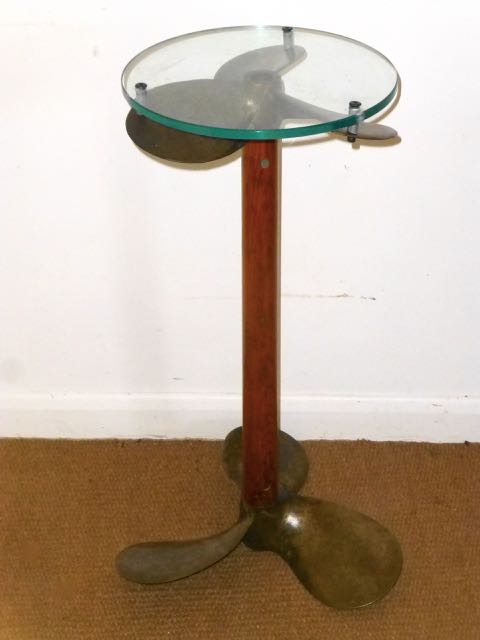 Picture of Propeller table.