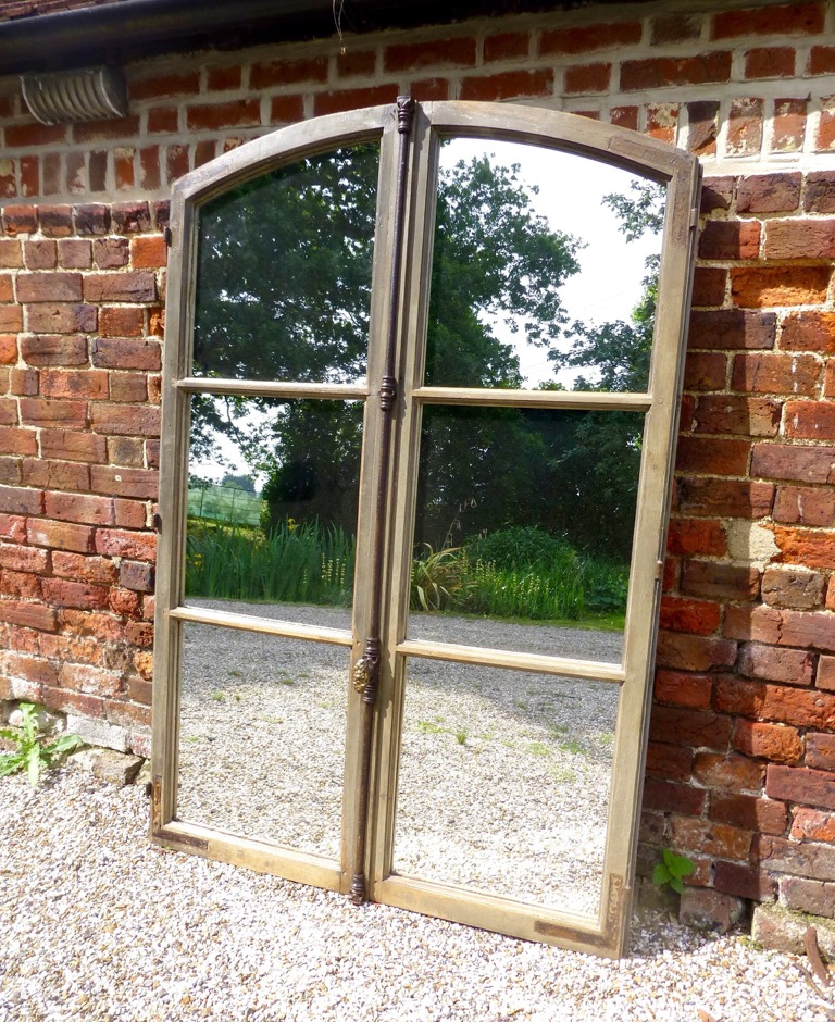 Picture of French mirror window