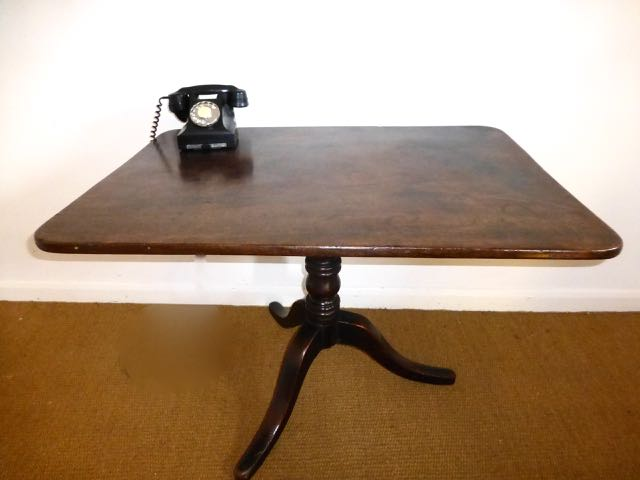 Tripod Oak Table