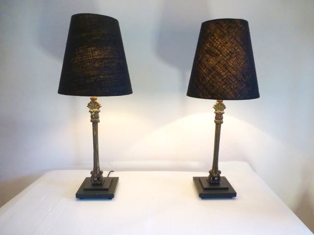 Picture of Pair of 45cm balustrade lamps