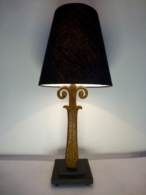 Picture of Rams balustrade lamp.