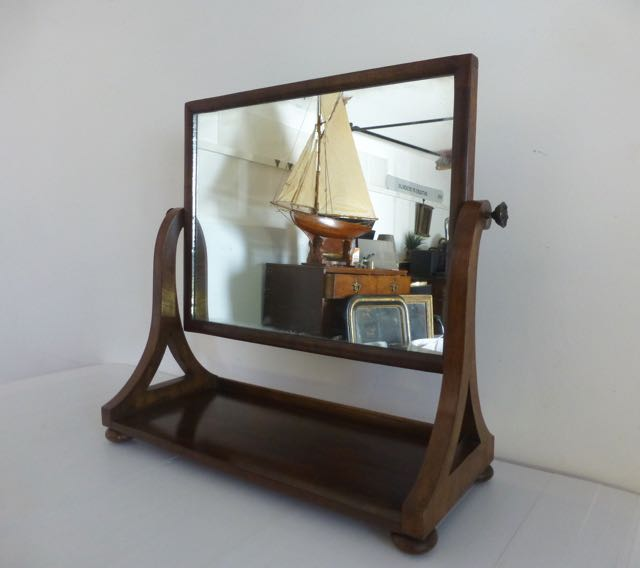 Picture of Victorian dressing table mirror
