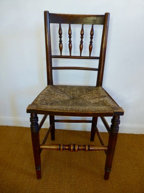 Lancashire reeded chair