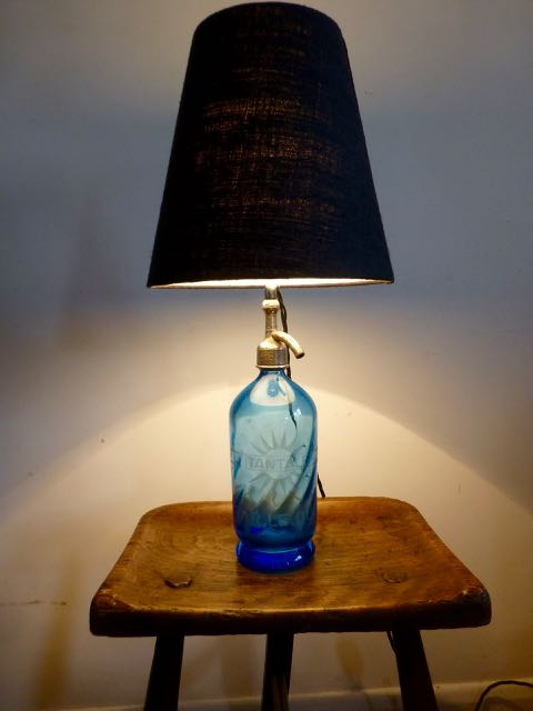 Picture of Blue French soda bottle