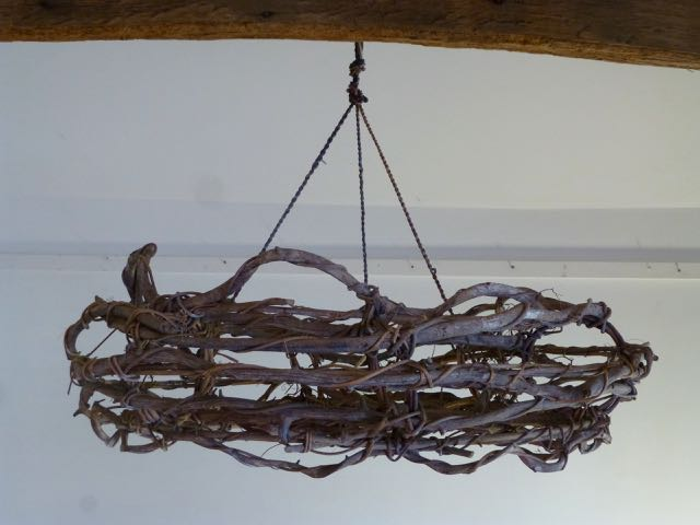 Picture of Old French vine chandelier