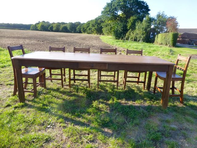 Picture of Large Oak French table