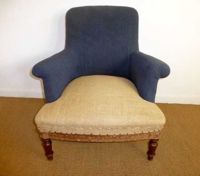 French 1920s easy chair.