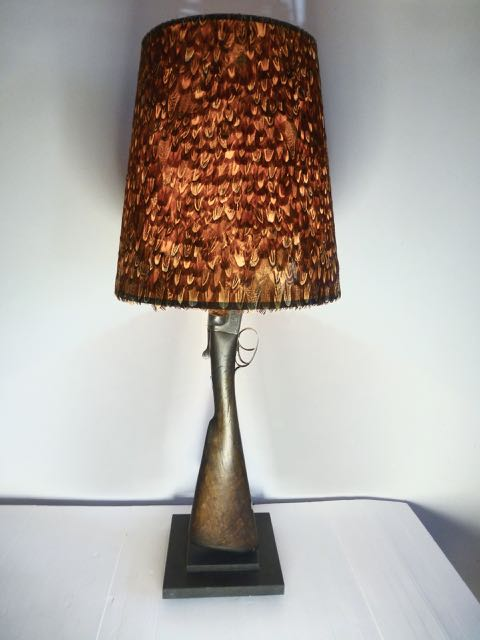 Picture of Shot gun table lamp