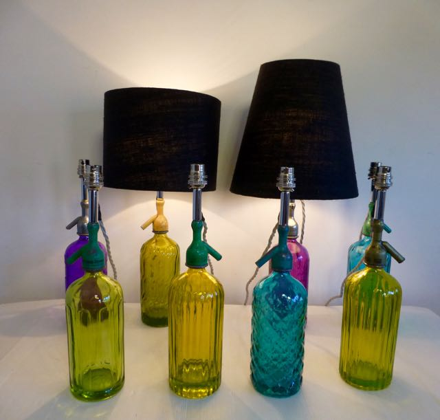 Picture of Soda bottle lights.