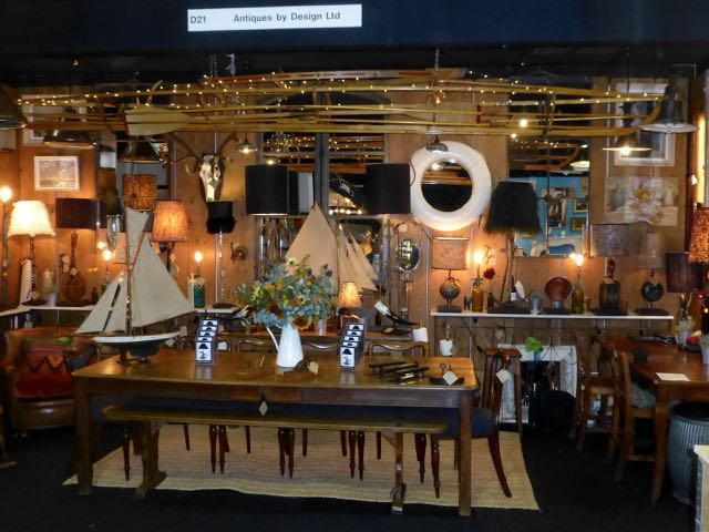 Picture of M stand at the Decorative Antique Fair in Battersea